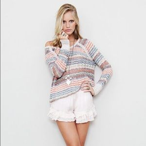 Free People Lost in the Forest Striped Sweater